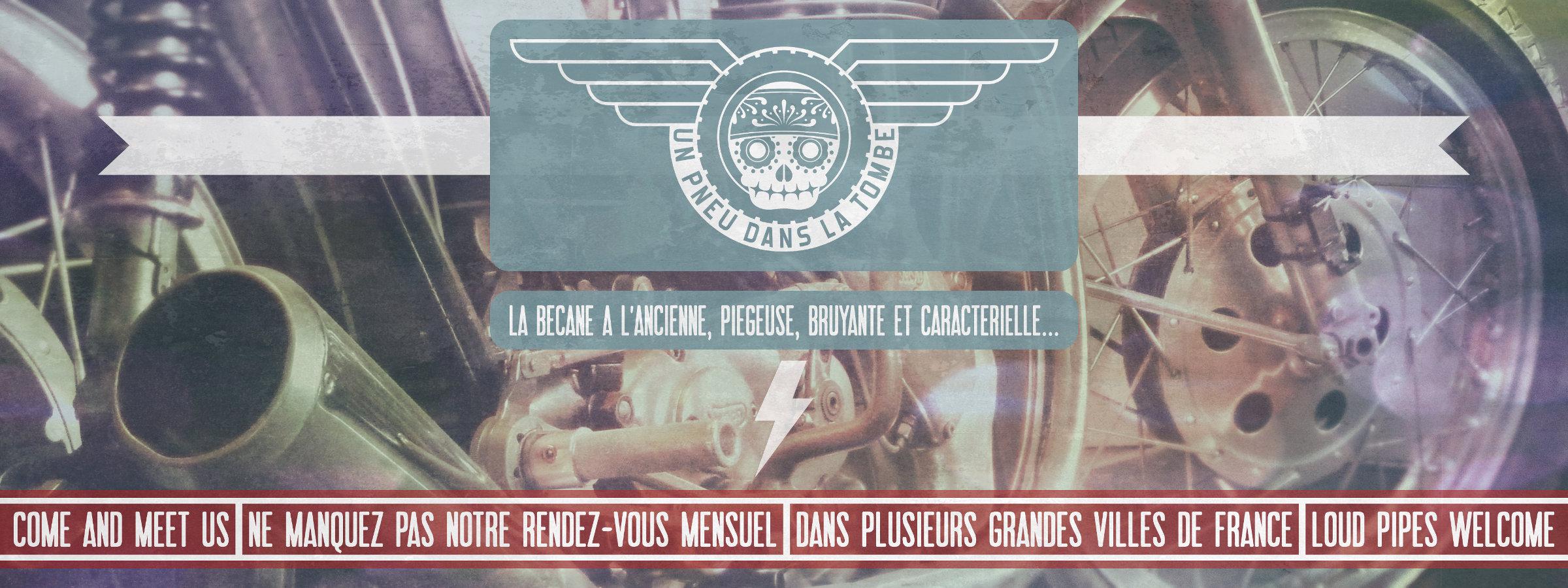 """Notre rendez-vous mensuel """"Un pneu dans la tombe""""."""