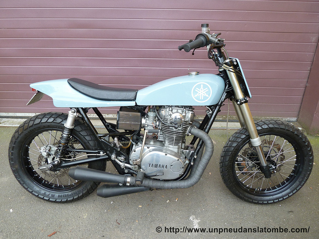 La XS 650 tracker de chez Max Power