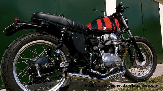 "La W650 ""Dirty Sauce"" de Drago"