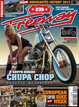 La couverture de Freeway Magazine #239.