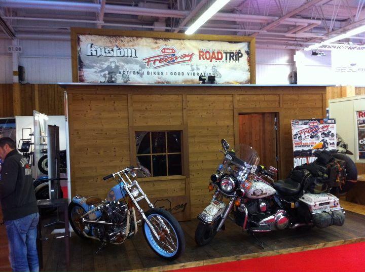 Le stand de Freeway au Salon de la Moto 2011.