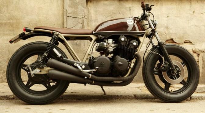 Une splendide Honda CB 750, revue et corrigée par Cafe Racer Dreams.