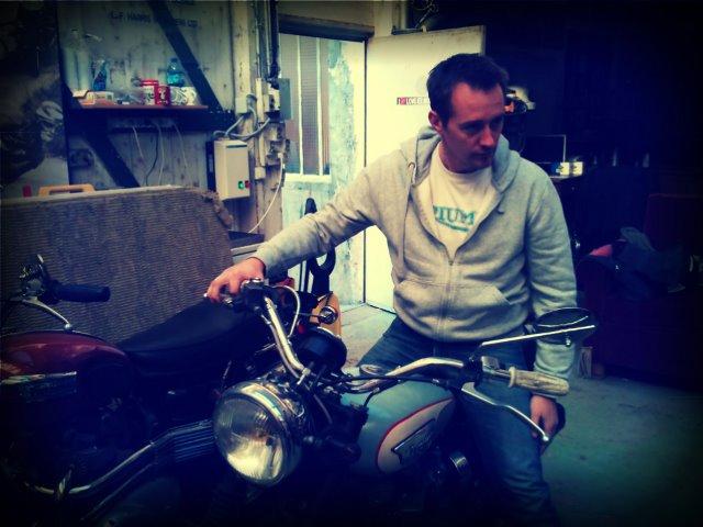 Jibé, notre contributeur pour Moto Rivisita...