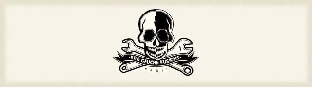 Le logo de Rive Gauche Kustoms.