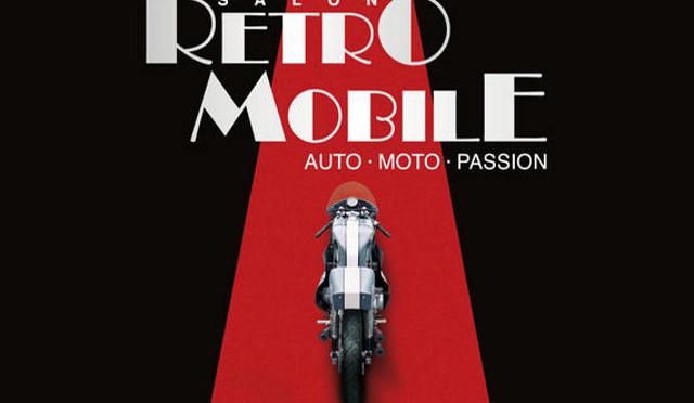 L'affiche du Salon Rétromobile 2011.