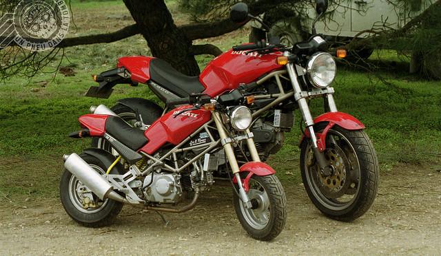 La Ducati 70 Mostricino de Dominique.