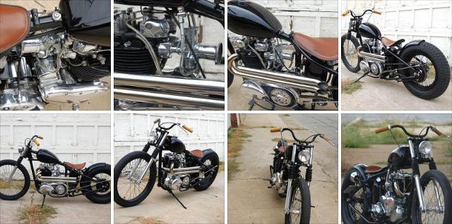 Triumph Thunderbird by Atom Bomb Custom Motorcycles.