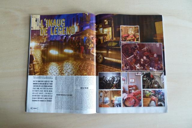 L'inauguration de Legend Motors, à découvrir dans RAD Motorcycles Magazine.