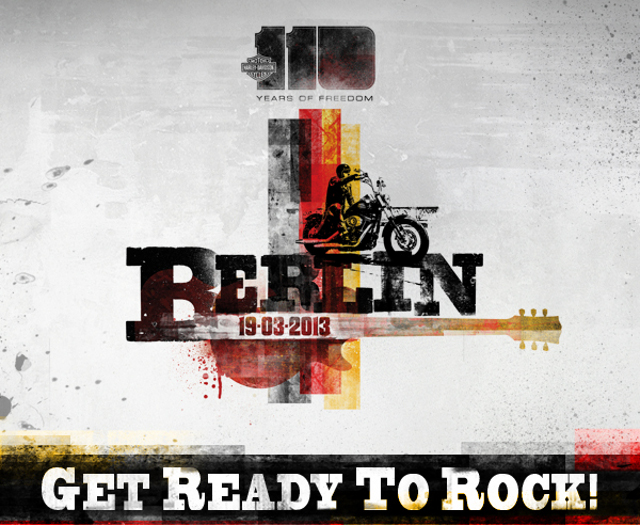 Harley-Davidson : un 110ème anniversaire fêté chez Gibson à Berlin !