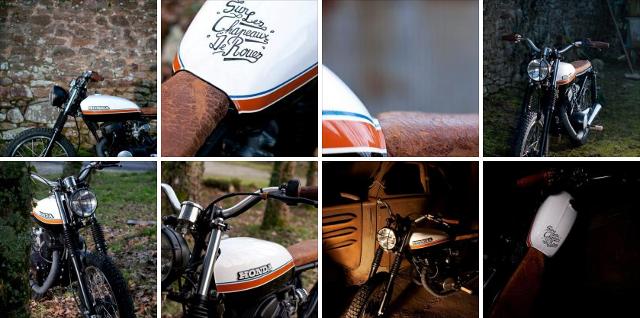 Honda CB 125 Twin by Sur Les Chapeaux De Roues.
