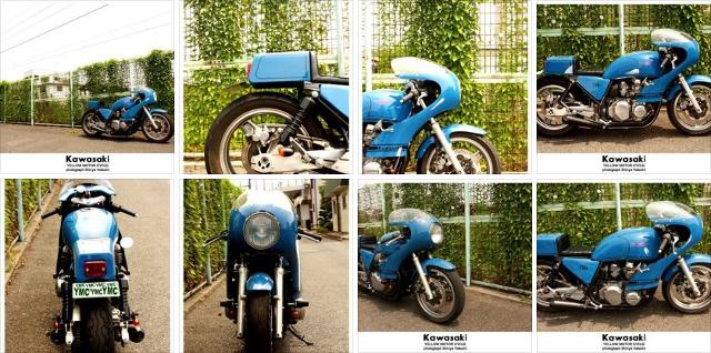 Kawasaki 750 Zephyr by Yellow MC.