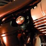 Une Harley-Davidson Softail Breakout, shootée dans les studios Gibson à Berlin.