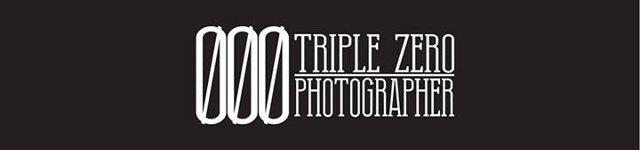 Le logo de Triple Zero Photographer.