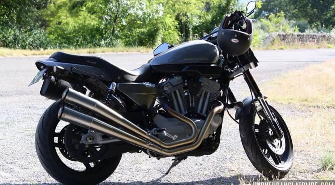 La Harley-Davidson XR 1200 de Xavier.