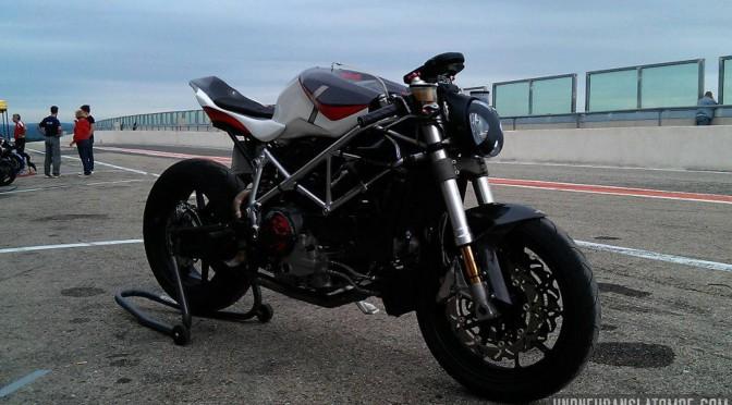 La Ducati 999 de Mickael.