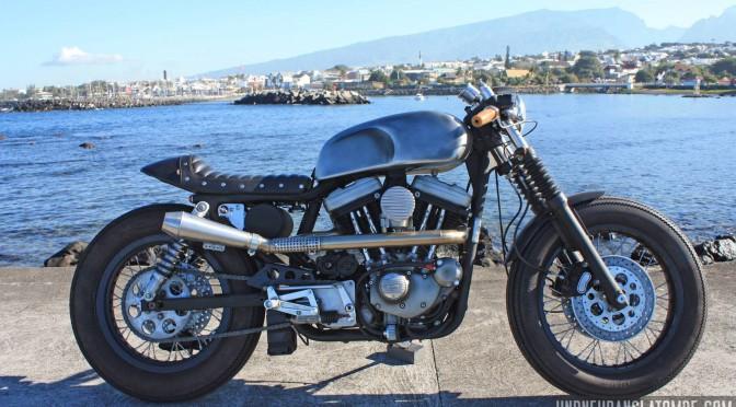 La Harley-Davidson Sportster 883 de Sylvain.
