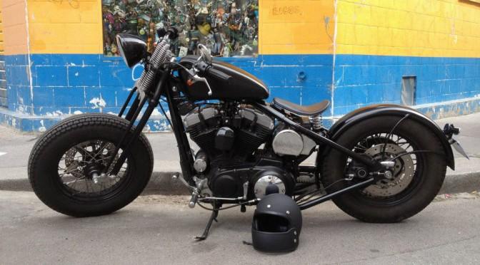 La Harley-Davidson Sportster 1200 d'Eric.