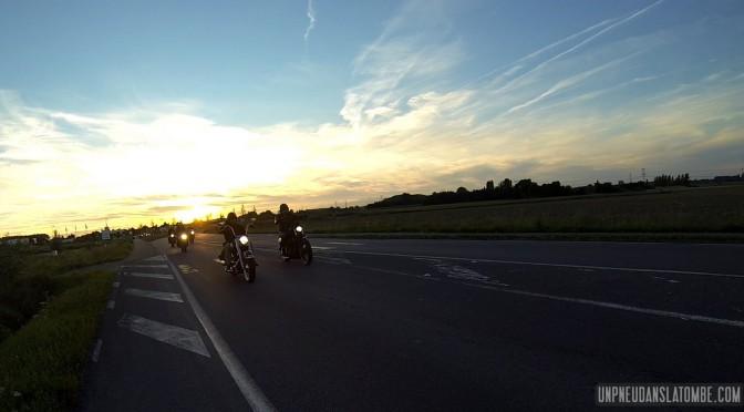 Souvenir de notre dernière virée, à destination de chez Seb Cycles.