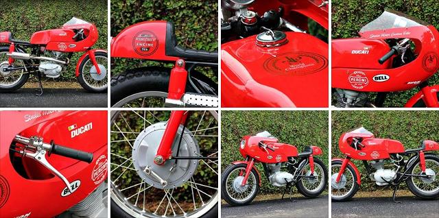 Ducati 125 Sport by Studio Motor.