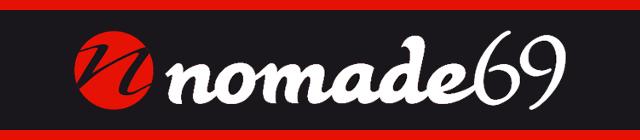 Le logo de Nomade69.