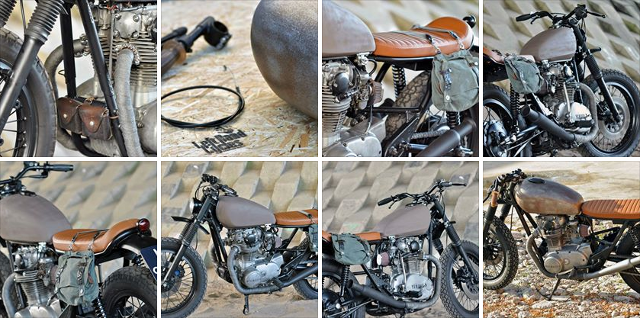 Yamaha XS 650 by Left Hand Cycles.
