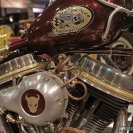 La Harley-Davidson Softail de Sasse van Essen, à l'International Motor Show...