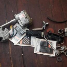 L'atelier moto de 4Q Conditioning, à travers l'objectif de Grant Ray...