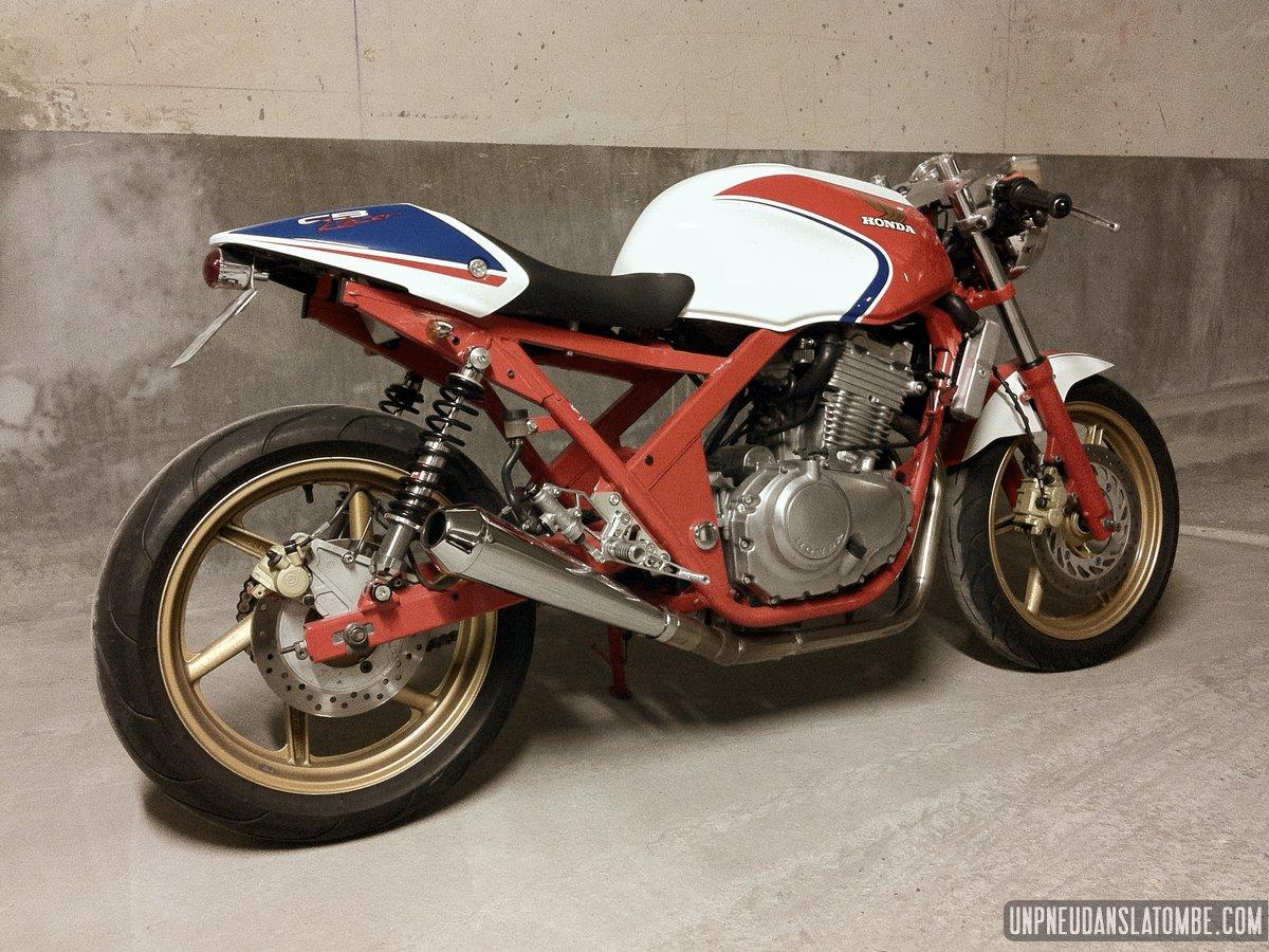 La Honda CB 500 Cafe Racer De Romain Plus Tout A Fait