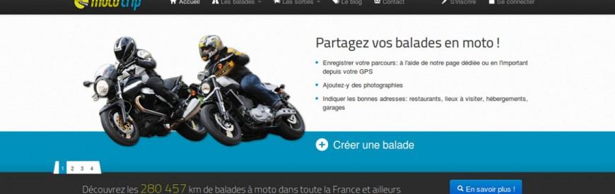 Partagez vos itinéraires de balades à moto préférés, avec Moto-trip.com !
