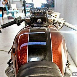 La Honda CX 500 de Rino...