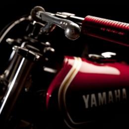"La Yamaha XS 650 ""Low Flyer"" de Sébastien Lorentz."