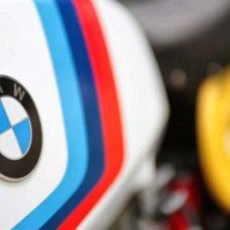 "La BMW R80/7 ""Six Days Beemer"" de Sébastien Lorentz."