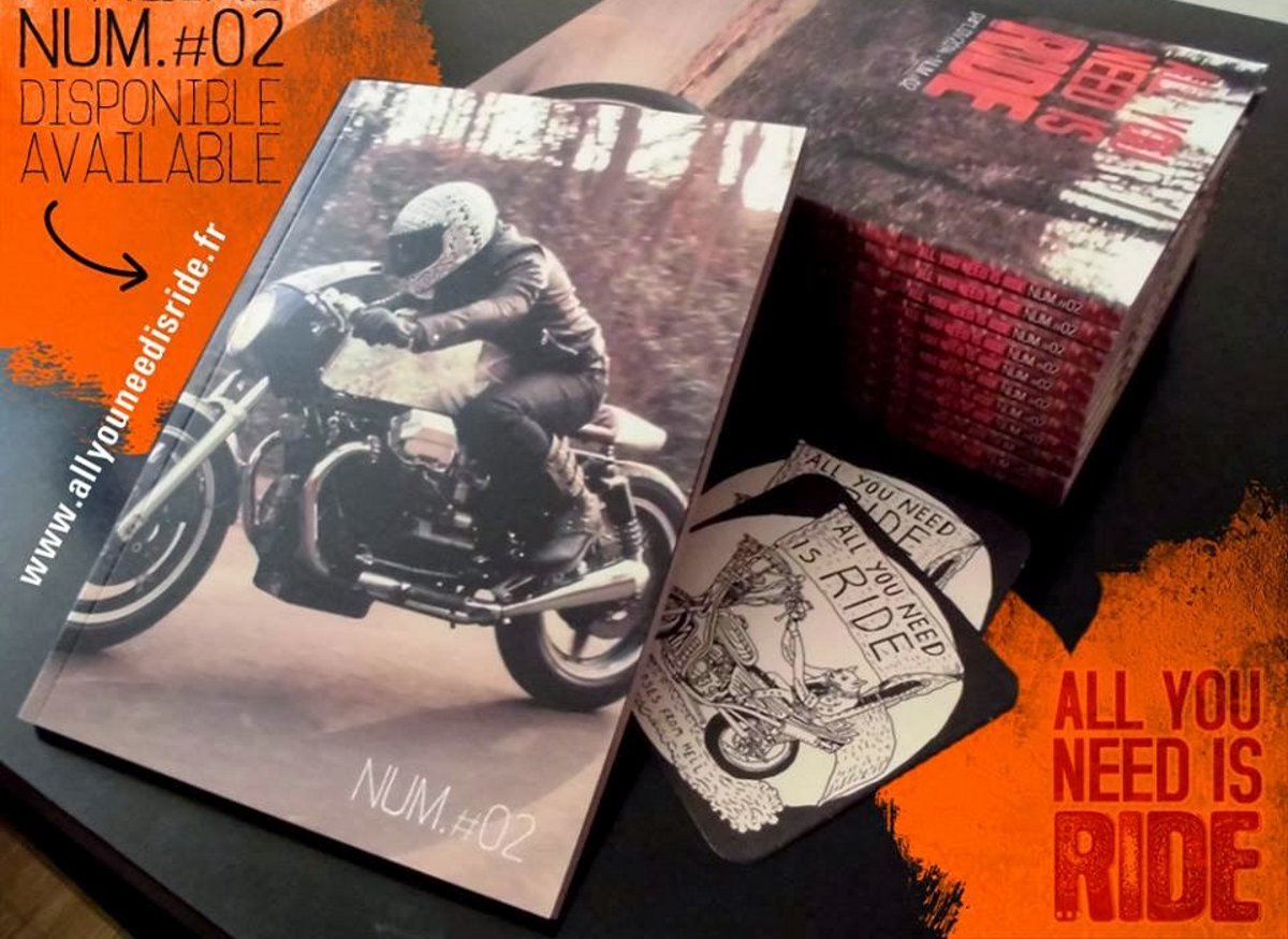 "Offrez-vous un fanzine collector, commandez le #2 de ""All you need is ride"" !"