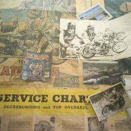 L'atelier moto de Century Motorcycles, à travers l'objectif de Grant Ray...