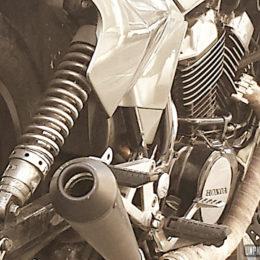 La Honda VT 500 E de Stanislas...
