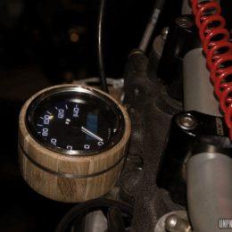 La Yamaha XT 600 de Big Ben Motorcycle... Elle envoie du bois !