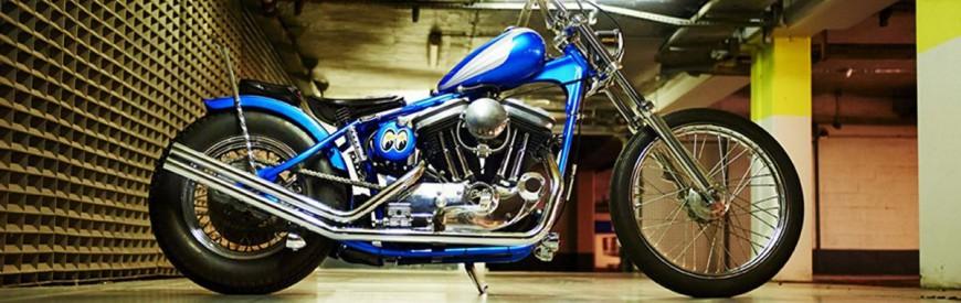 Amateurs de Frisco choppers, pour vous ce Sportster de chez Seb Cycles...
