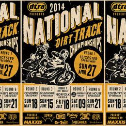 National Dirt Track Championships 2014... Frank Chatokhine est prêt !