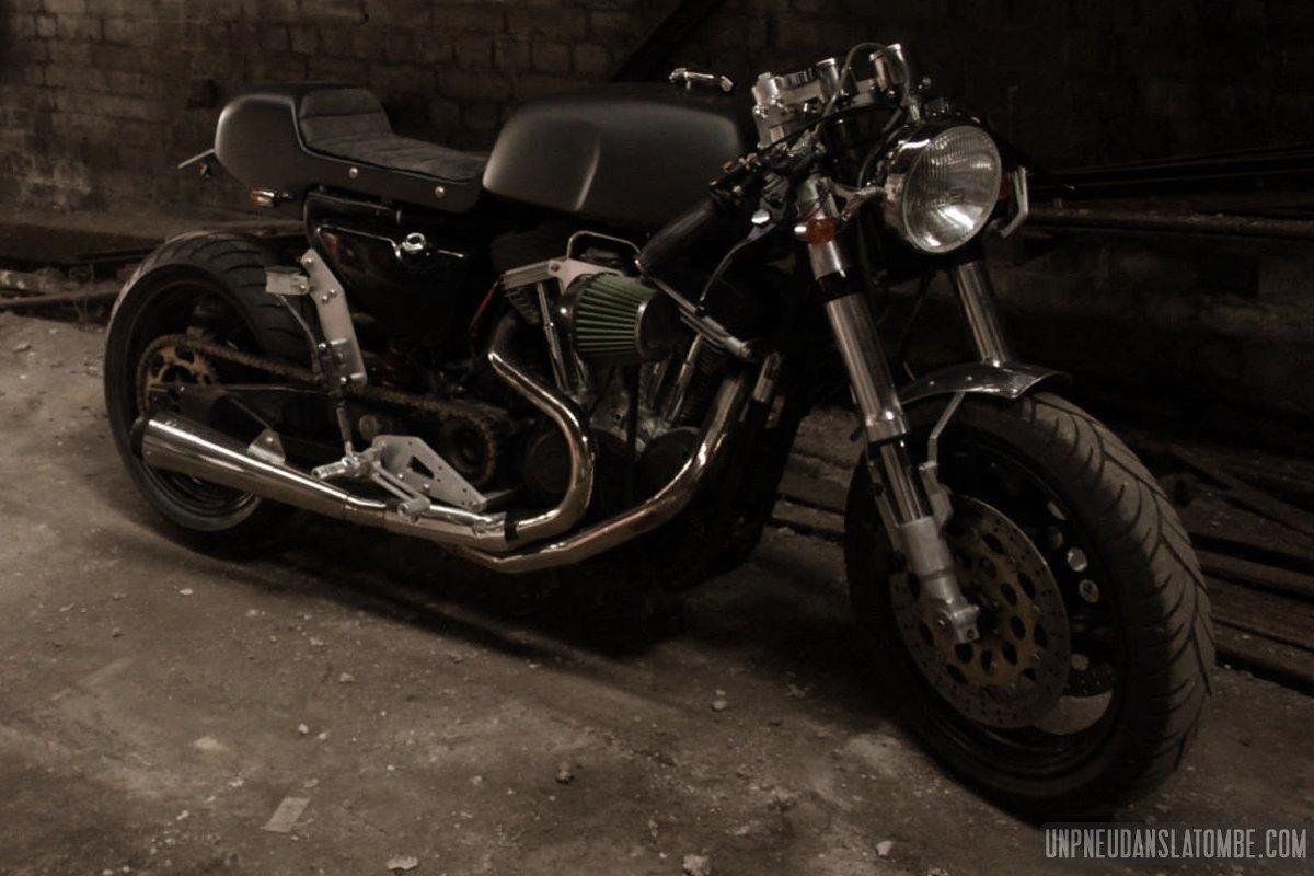 Harley Davidson St Jerome >> La Harley-Davidson 883 Sportster de Jérôme... Un méchant cafra