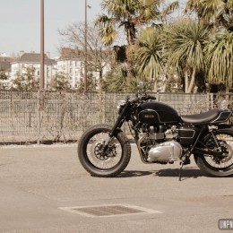 Triumph Bonneville street-tracker by Mule Motorcycles... Made in Europe!