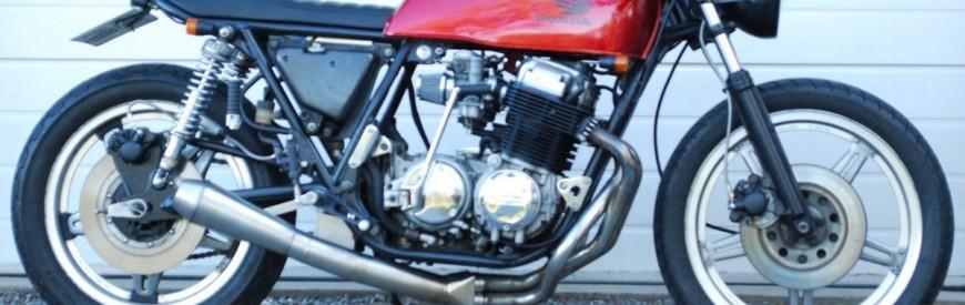 Honda CB 750 Four F2 cafe-racer... Danish super stance !