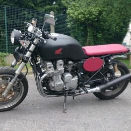 La Honda CB 750 Seven Fifty de Guillaume...