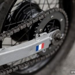 La Honda XL600R de Florent...