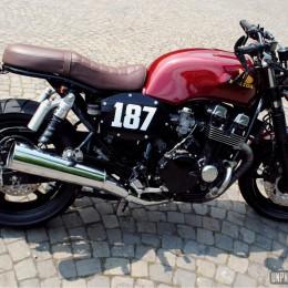 La Honda CB 750 Seven Fifty de Tony...