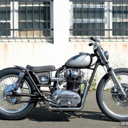 Yamaha XS 650 custom by Purple Pantera... Japan style!