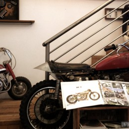 Roland Sands Design, le QG californien en images...