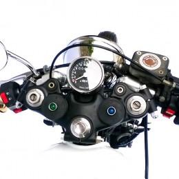 """Une Yamaha XS 650 bien """"brat"""", sortie de chez Breizh Coast Kustoms..."""