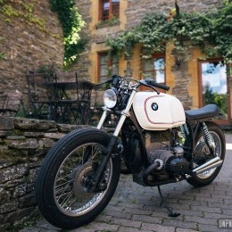 BMW R80S by Zombie Customs : une transfo en hommage à la 2002 Turbo...
