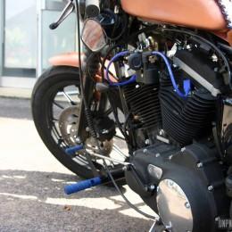 La Harley-Davidson 883 Sportster de Joey...