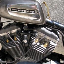 La Harley-Davidson Sportster de Mickael, un petit chop bien désirable !